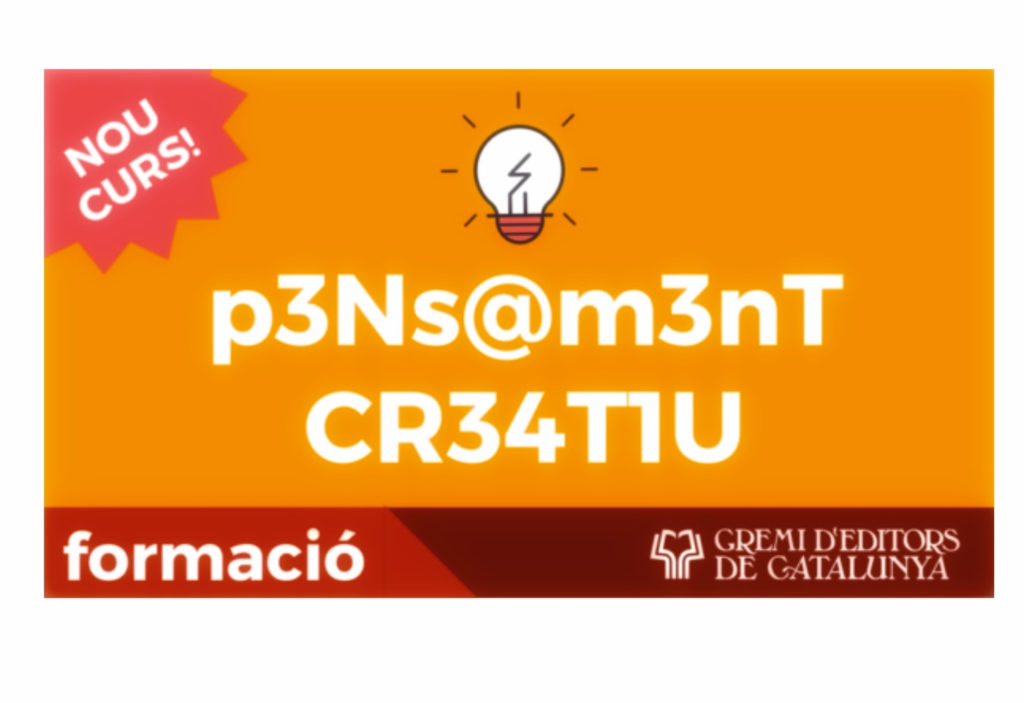 CURSO DE PENSAMIENTO CREATIVO E INNOVADOR EN BARCELONA