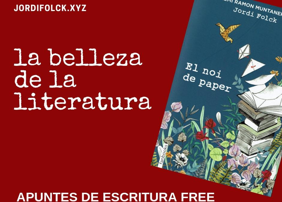 LA BELLEZA DE LA LITERATURA